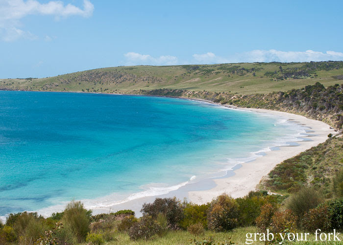 Crystal blue waters for a private beach on Kangaroo Island
