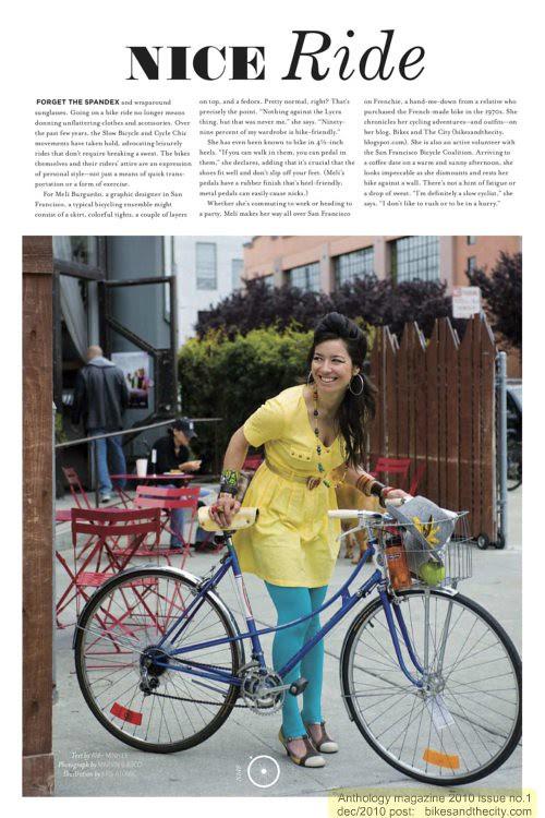 """""""Nice Ride"""" in Anthology magazine"""