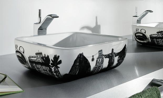 Lavabos Urban Río de Janeiro y Londres - Roca, decoracion, baños