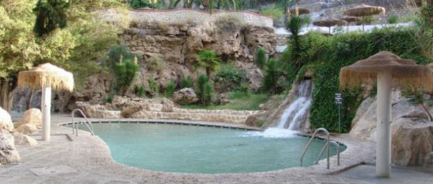 Resultado de imagen de Balneario de Alicún,