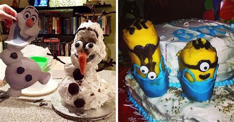 22 Worst Disney Cake Fails Ever. These People Totally