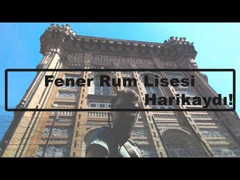 Fener Rum Lisesi Harikaydı | Balat - Fener Yürüyüşü 1