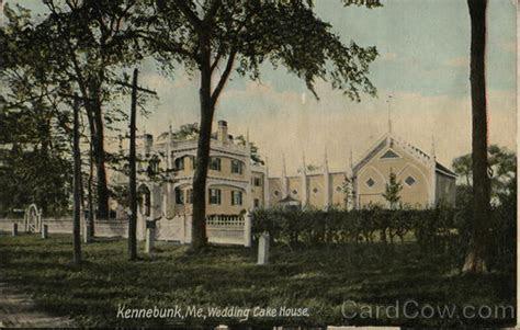 Wedding Cake House Kennebunk, ME Postcard