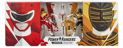 Power Rangers Lightning Collection Comic Con
