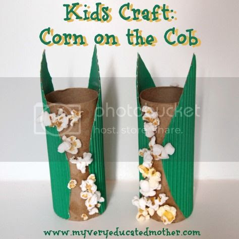 #KidsCraft #Corn #FallCrafts