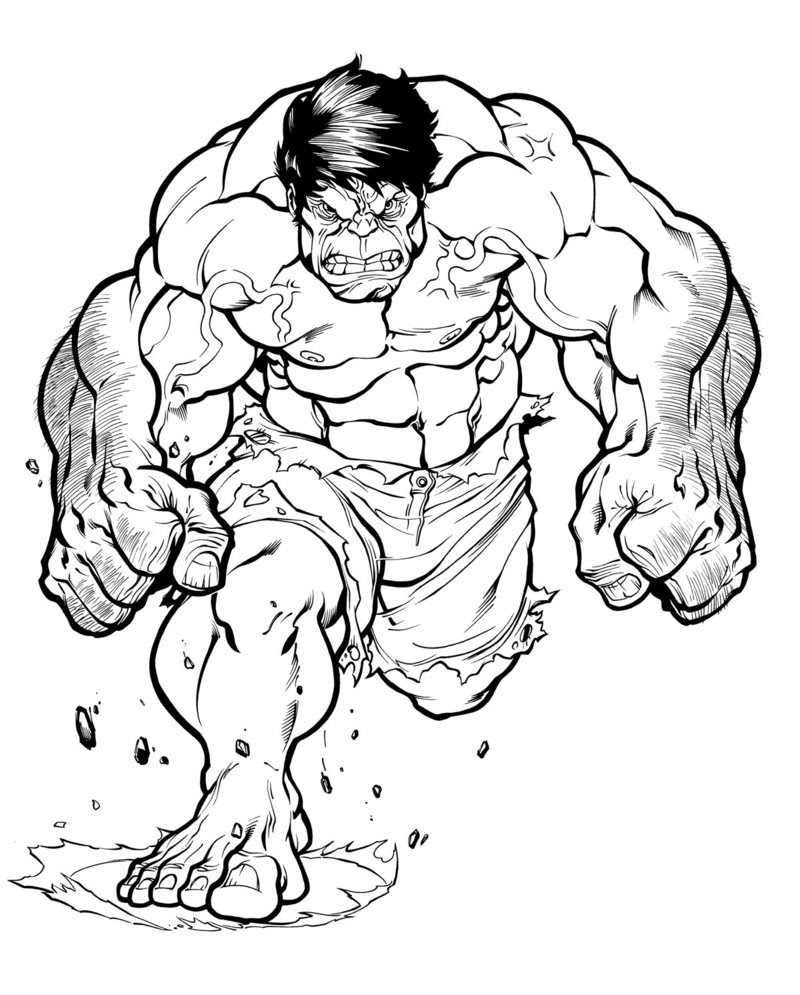 Hulk Easy Drawing At Getdrawingscom Free For Personal Use Hulk