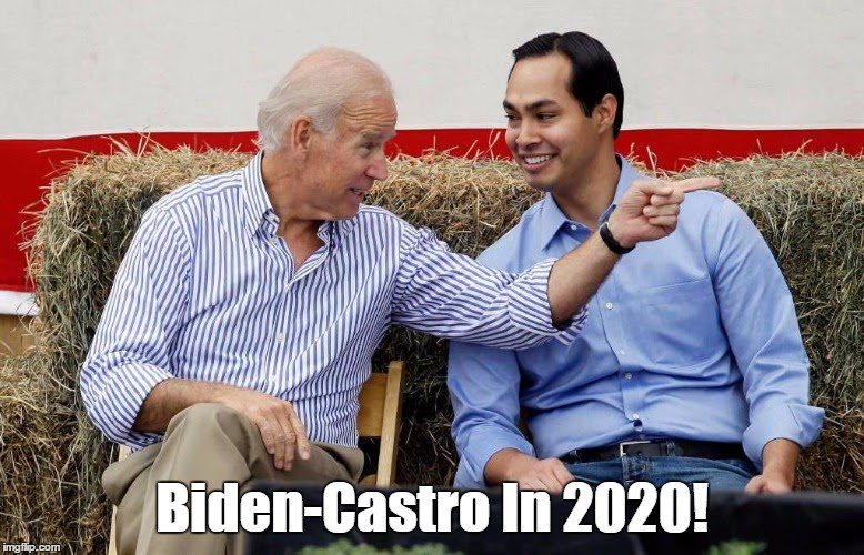 Image result for biden castro 2020