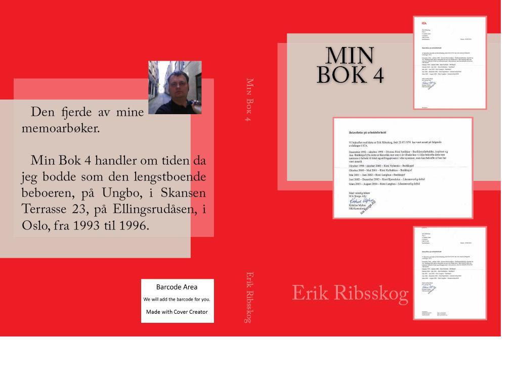 laget cover min bok 4