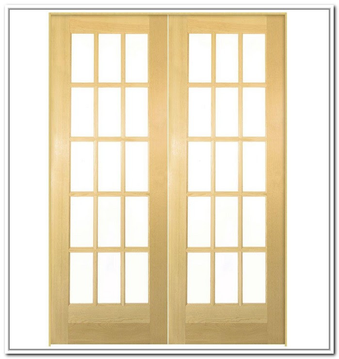 30 X 80 Interior French Door Provides More Light To The Room It Is