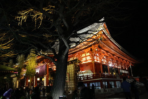 Side of Senso-ji Temple