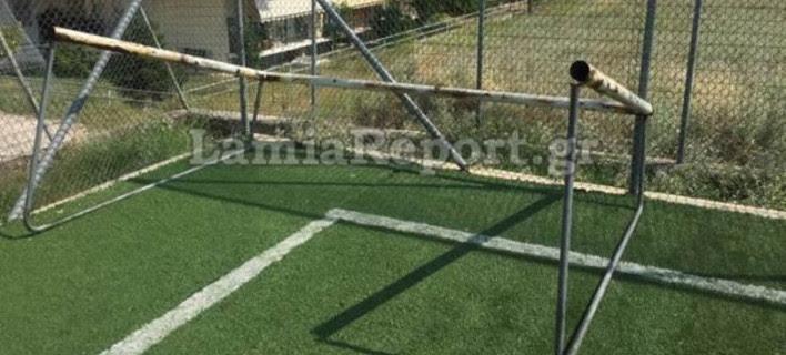Λαμία: Τραυματίστηκε σοβαρά 12χρονος σε γήπεδο 5Χ5 -Επεσε το τέρμα επάνω του