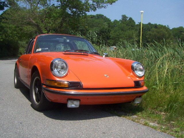 Classic 1973 Porsche 911 E Targa For Sale 10930 Dyler