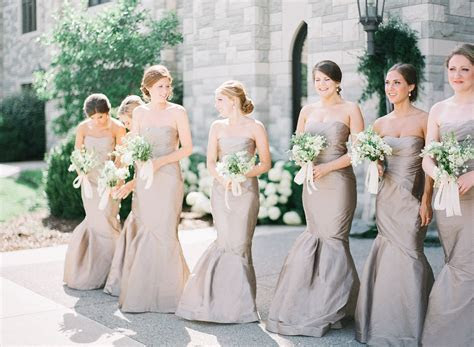 Champagne color bridesmaid dresses, Covenant Presbyterian
