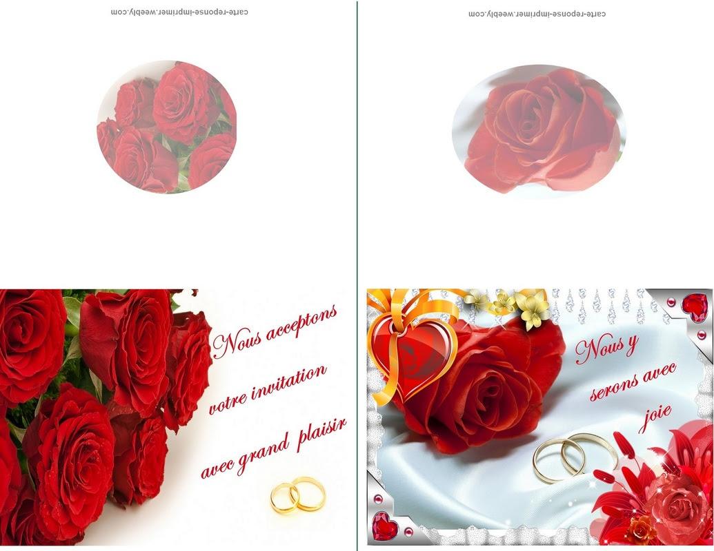 Ckifiyatlariguncel: Carte Dinvitation De Mariage Gratuit A Imprimer