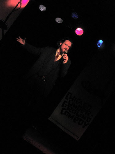 Adam Burke at Chicago Underground Comedy Dec. 9, 2008