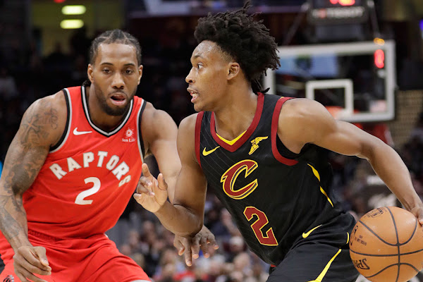 6ca8ac7774f Serge Ibaka, Marquese Chriss ejected as Cavaliers trounce Raptors. Collin  Sexton ...