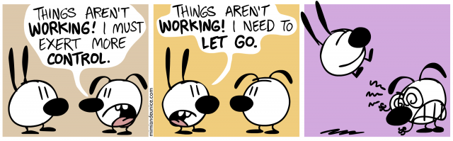 control vs. letting go