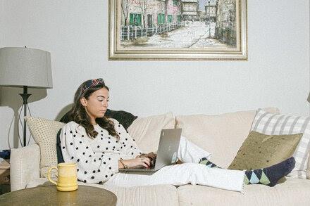 TREND ESSENCE:Goodbye, Blazers; Hello, 'Coatigans.' Women Adjust Attire to Work at Home.