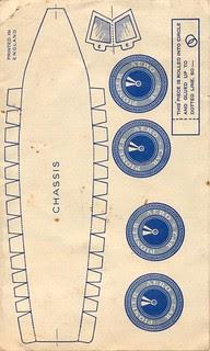 Lee givaway aerocar B, NLL 1933