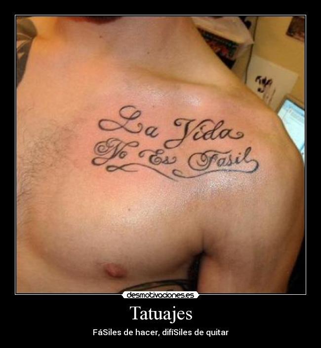 Imagenes Y Carteles De Tatuajes Desmotivaciones