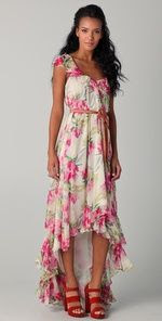 Elizabeth and James Floral Marissa Dress