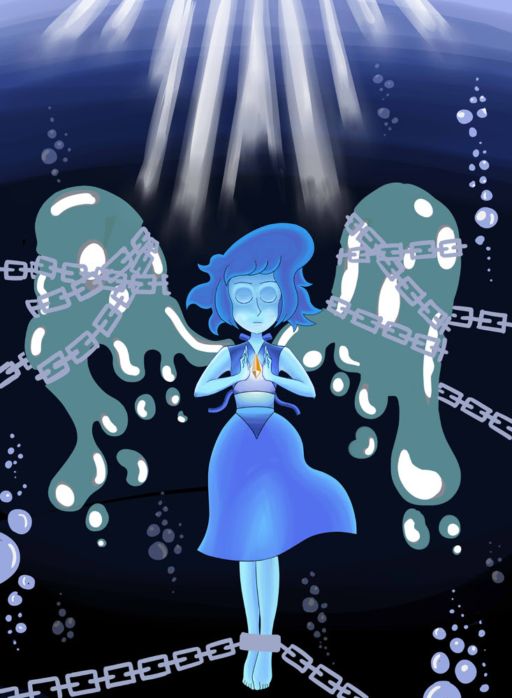 Deep Sea Guardian featuring #lapis_lazuli from #steven_universe