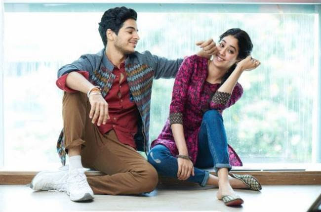 Image result for ishaan khatter and jhanvi kapoor