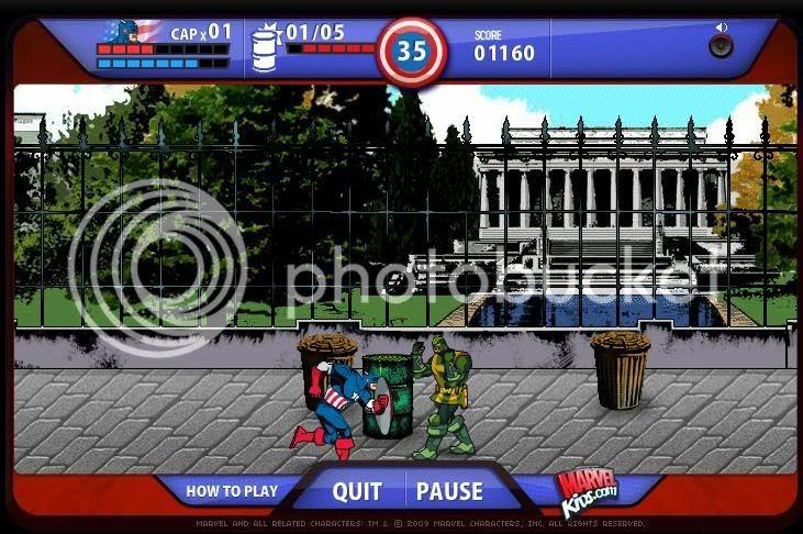 Cap Game