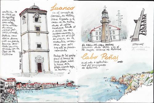 Luanco y Cabo Peñas