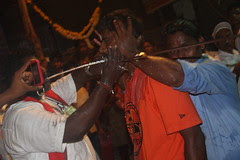 Removal of The Rod at Marriamman Temple Nehru Nagar Juhu by firoze shakir photographerno1