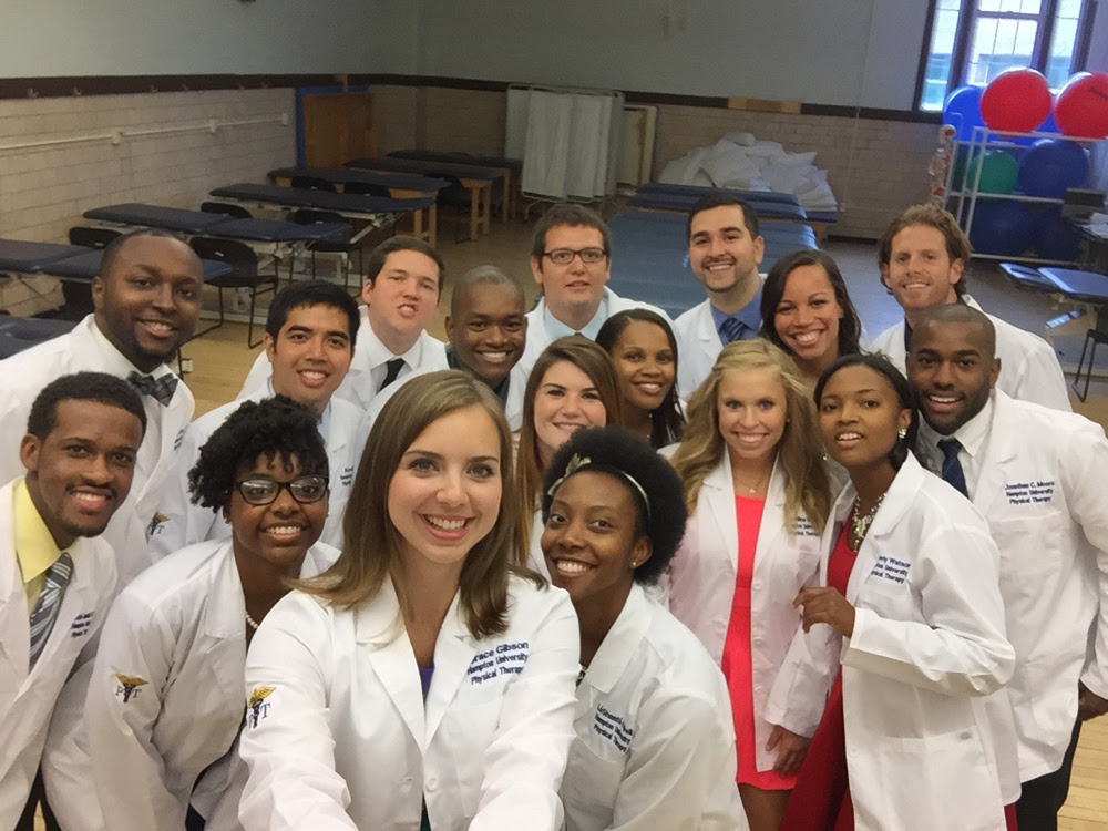 HU Department of Physical Therapy Celebrates the White ...
