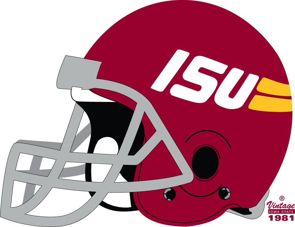 Iowa State Cyclones Helmet - NCAA Division I (i-m) (NCAA i ...