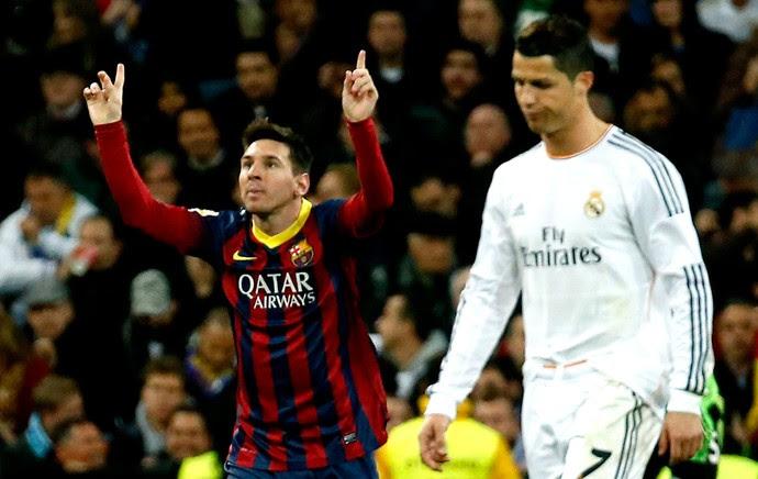 messi barcelona eCristiano Ronaldo real madrid (Foto: Agência Reuters)