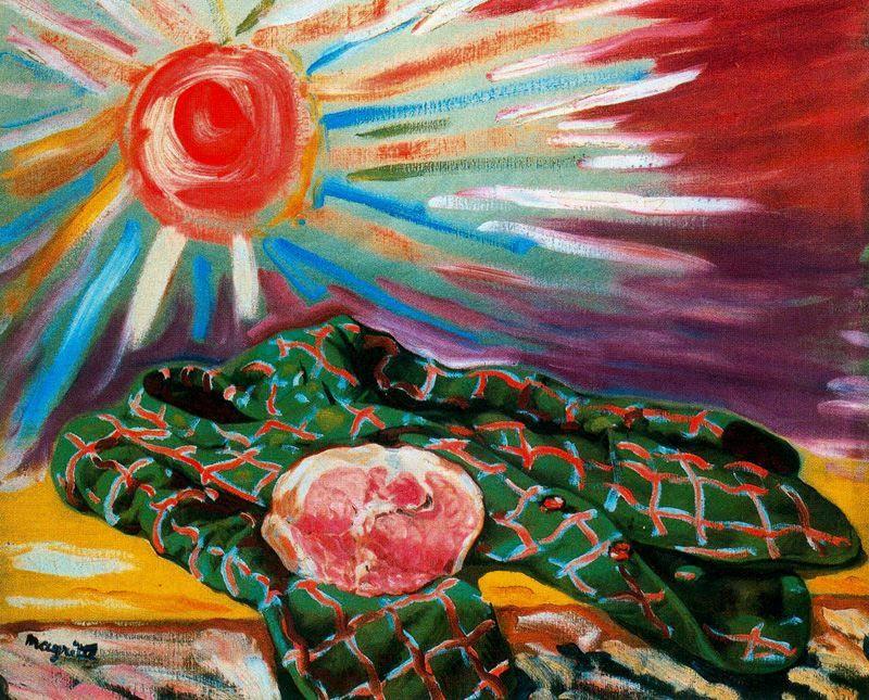 The mark, 1948 Rene Magritte