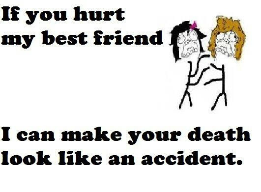 You Hurt Me Best Friend Quotes
