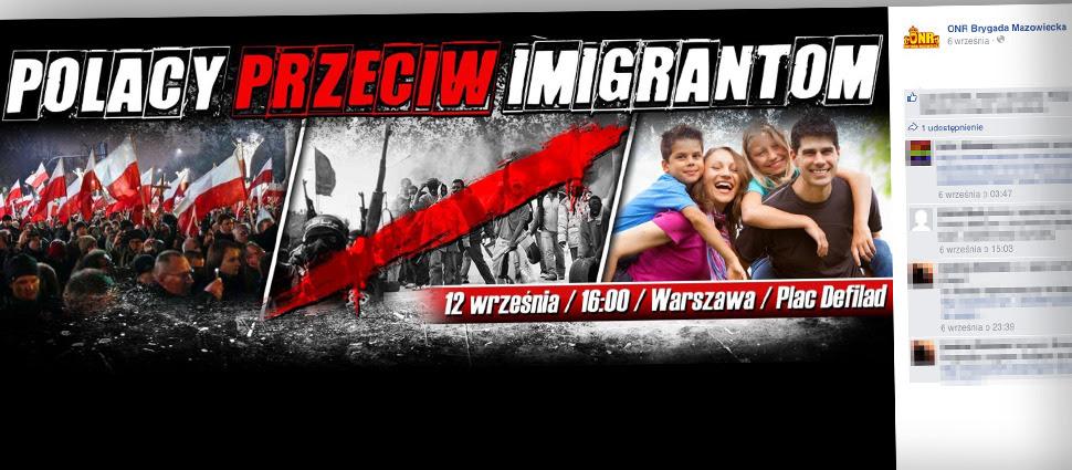 Warszawski ratusz nie zgodził się na antyimigrancką manifestację