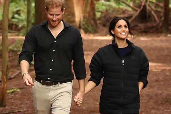 d5d2563d11 Príncipe Harry fotografa lindo momento da gravidez de Meghan Markle