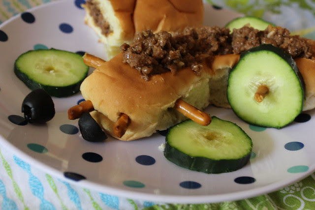 Sloppy Joe Bun Buggy