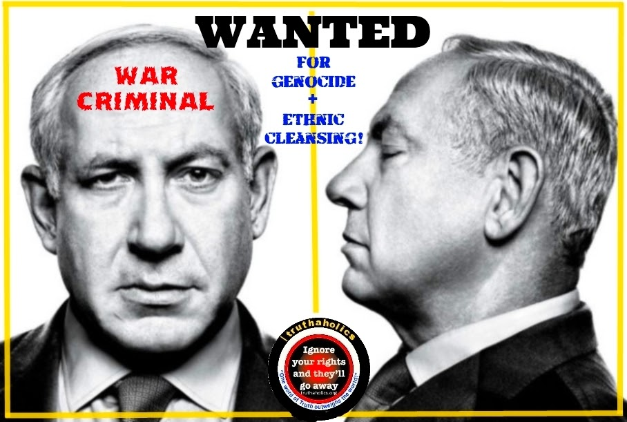 Jew Detector: Uprooted Palestinian: Dead Teenagers: Netanyahu's Criminal