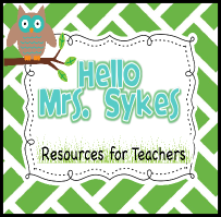 Hello Mrs. Sykes