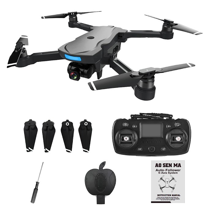 CG033 Brushless FPV Quadcopter With 1080P HD Wifi Gimbal Camera 5MP Or No RC Helicopter Foldable Drone GPS Dron