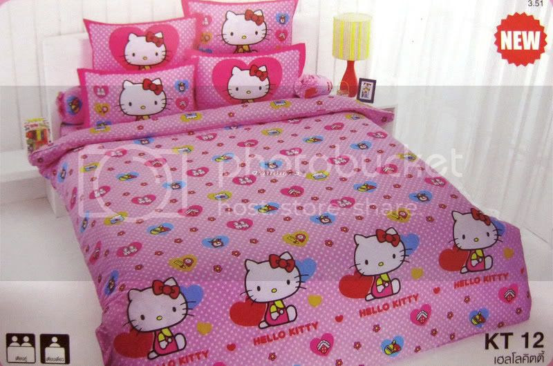 Toddler Bed Sheets Hello Kitty