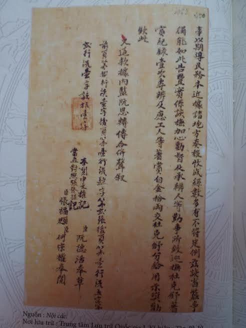 Chủ quyền Trường Sa Hoàng Sa, thư tịch cổ, châu bản, Trung Quốc, Việt Nam, cưỡng chiếm Hoàng Sa, bản đồ, sử sách, hải đội Hoàng Sa, Minh Mạng