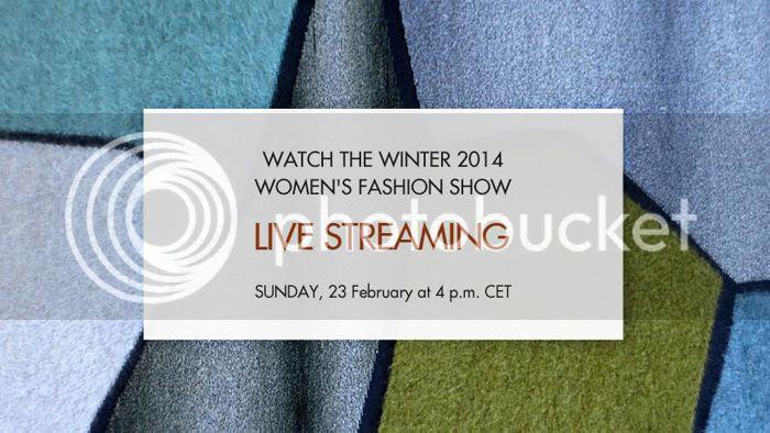 Missoni Women fall winter 2014/15 livestream