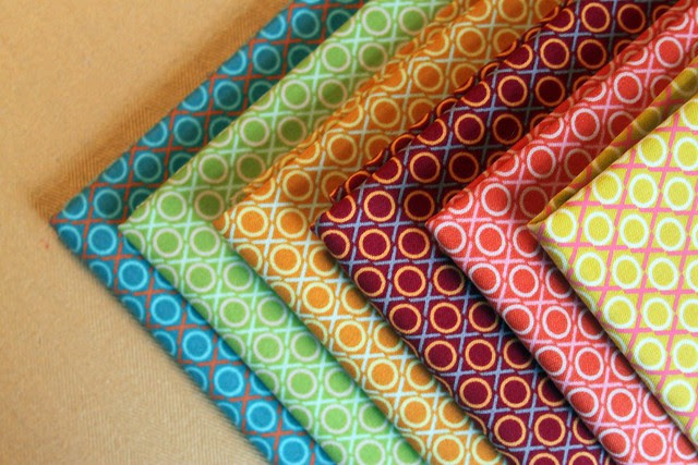 Hugs and Kisses Fabric Bundle