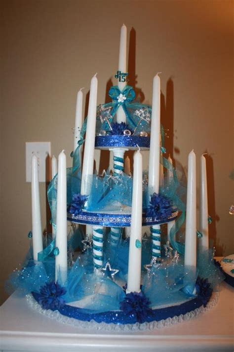 Quinceanera candles Sweet 15 Sweet 16 Candelabra by Maylin201