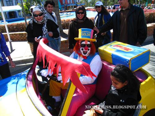 clown in dreamworld