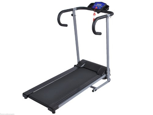 Best treadmill 2014 top goplus new 500w folding electric for Best choice products black 500w portable folding electric motorized treadmill