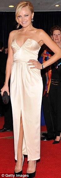 A coisa branca: Modelo Kate Upton, Malin Ackerman e Ginnifer Goodwin tudo parecia deslumbrante em sua escolha de formas pálidas