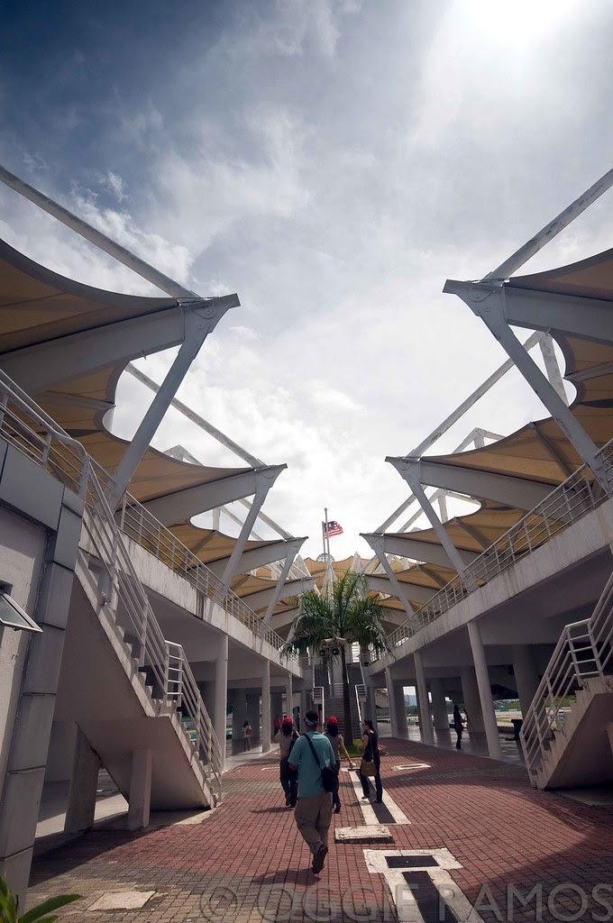Malaysia - Sepang Circuit Walking To the View Deck